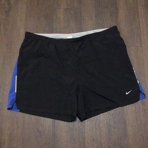 Men's Nike DRI-FIT Lined Running Shorts Size large